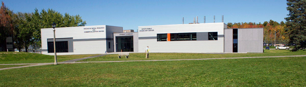 Picture of the outside of the IMRC building